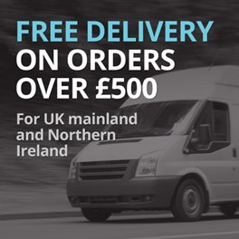 Free Delivery On Orders Over £500