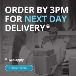 Order By 3pm for Next Day Delivery