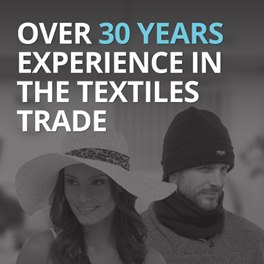 Over 30 years experience in the textiles trade