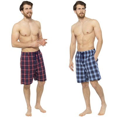 MEN'S TWO PACK CHECKED SHORTS (24)
