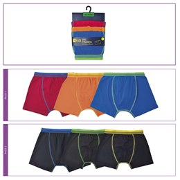 BR210 BOYS 3 PACK TRUNKS