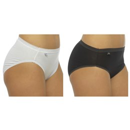 BR352 LADIES 2 PACK BOXED HI-LEG BRIEFS