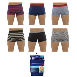 BR402 MENS 3 PACK HIPSTER TRUNKS