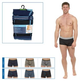 BR409 MENS 3 PACK KEYHOLE TRUNKS