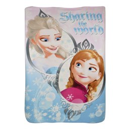 R_CM0505 DISNEY BLANKET - NEW FROZEN