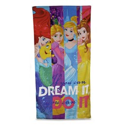 R_CM0607 DISNEY TOWEL - PRINCESS