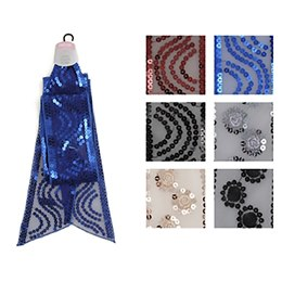 GL017 LADIES SEQUINNED NECK SCARF
