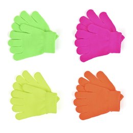GL102 KIDS THERMAL NEON MAGIC GLOVES