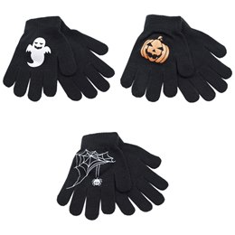 GL112 BOYS THERMAL HALLOWEEN GRIPPER GLOVES