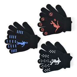 GL113 BOYS THERMAL MAGIC GRIPPER GLOVES