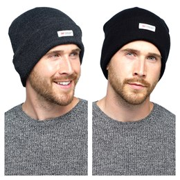 GL219 MENS THINSULATE ACYLIC HAT (144)