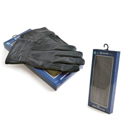 GL319A MENS BOXED LEATHER GLOVES