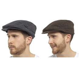 GL375 MEN'S FLAT CAP
