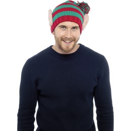 GL384 ADULTS CHRISTMAS ELF NOVELTY HAT