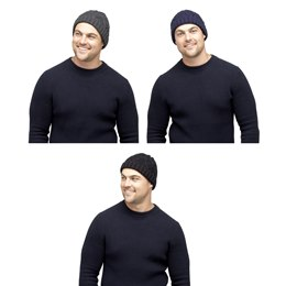 GL395 MEN'S CABLE BEANIE