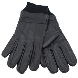 GL398 MENS GLOVES WITH LEATHER TOP AND PALM