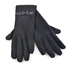 GL405 LADIES DRESS GLOVE WITH BOW