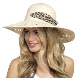 GL703 LADIES FLOPPY WIDE BRIM HAT