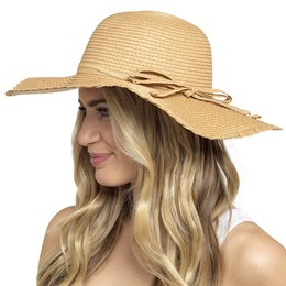 GL711 LADIES WIDE BRIM HAT