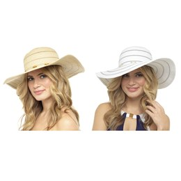 GL714 LADIES FLOPPY SUMMER HAT