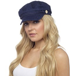 GL723 Ladies Denim Baker Boy Hat