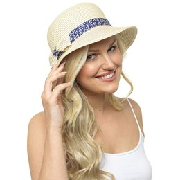 GL725 Ladies Bucket Hat With Bow Detail