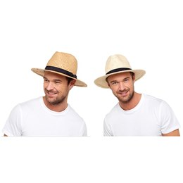GL756A ADULTS STRAW HAT WITH BAND
