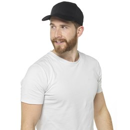 GL786BK MENS BASEBALL CAP  BLACK