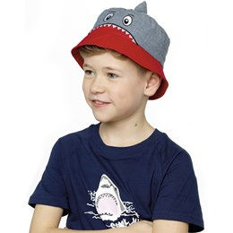 GL925 Boys Shark Bucket Hat