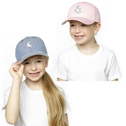 GL927 Girls Baseball Cap With Embriodery
