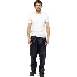 JK519A ADULTS WATERPROOF TROUSERS - NAVY