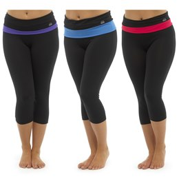 LN302 LADIES 3/4 YOGA PANT