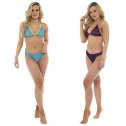 LN459 LADIES CROCHET BIKINI