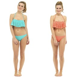 LN460 LADIES CUTWORK DETAIL BIKINI