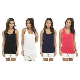 LN482 LADIES BASIC SINGLE VEST
