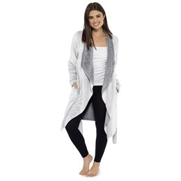 LN597 LADIES FLEECE WATERFALL WRAP