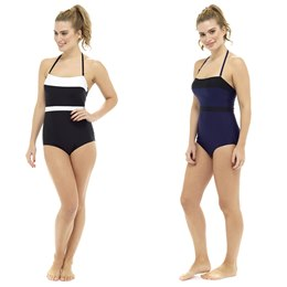 LN718 LADIES BANDEAU SWIMSUIT