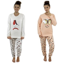 LN830 LADIES ANIMAL TWOSIE SET
