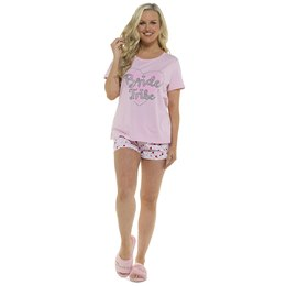 LN858 LADIES BRIDE TRIBE PYJAMAS