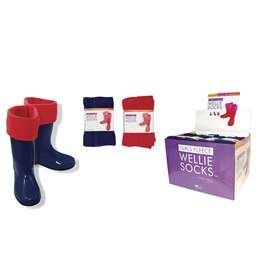 SK305CDU GIRLS PLAIN FLEECE WELLIE LINER