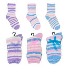 SK397P GIRLS SNOW SOFT SOCKS