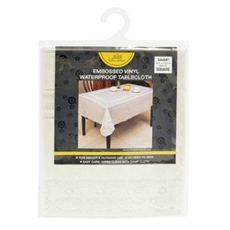 TC001 54 X 54'' EMBOSSED TABLE COVER